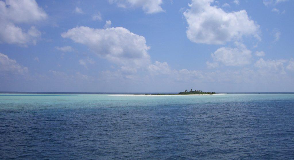 Isolotto dell'atollo di Ari