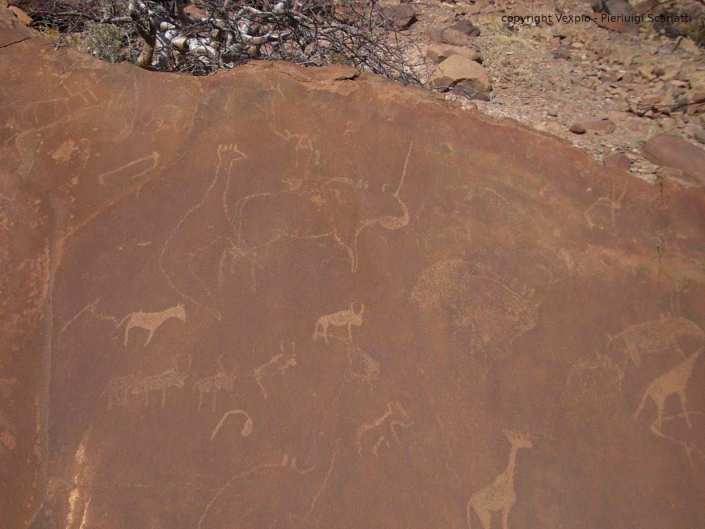 Pitture rupestri a Twyfelfontein (Damaraland)
