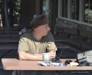 Area ristoro a Yellowstone