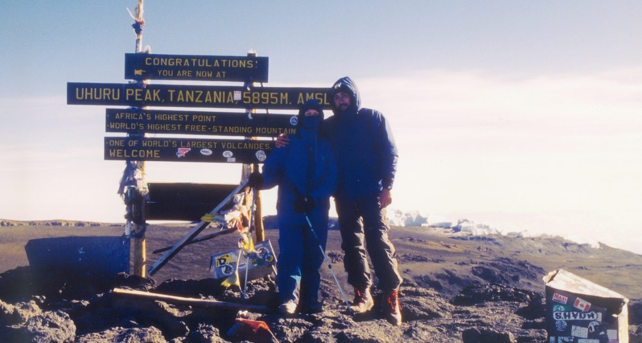 Cima del Kilimanjaro (scansione da diapositiva)