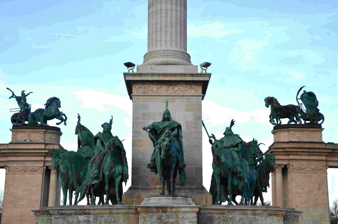 Piazza degli Eroi - Budapest