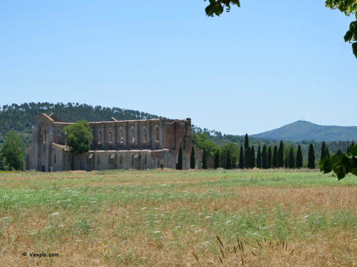 Abbazia di San Galgano (vista)