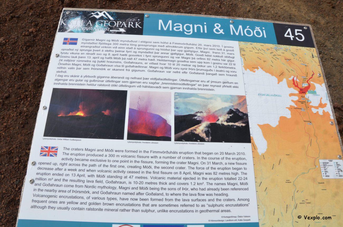 Cartello esplicativo del Magni