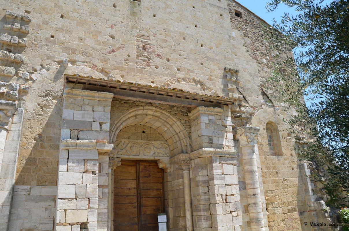 Geometrie sovrapposte dell'abbazia di Sant'Antimo