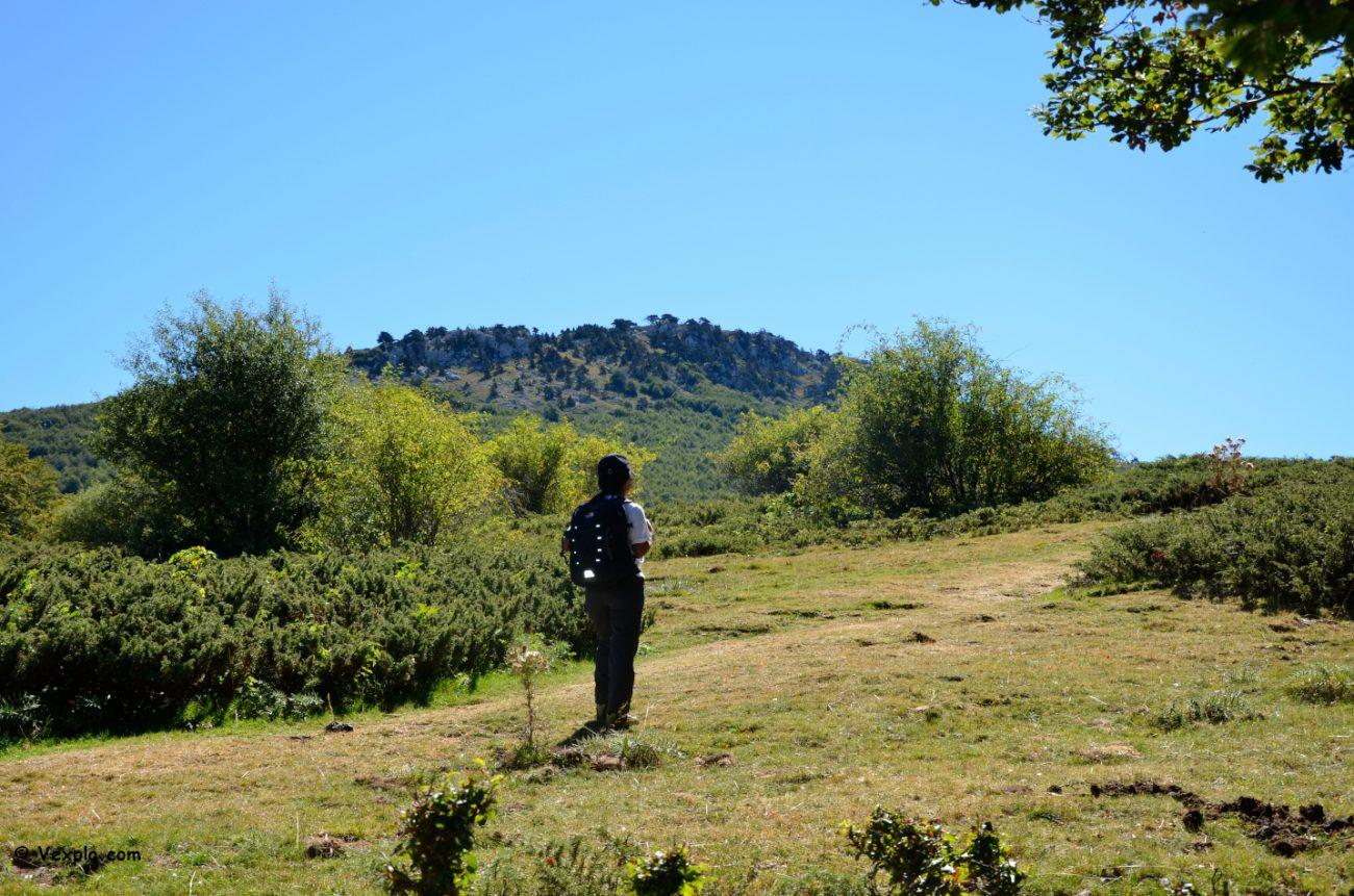 Escursioni nel Parco del Pollino - Vista sulla Serra di Crispo.