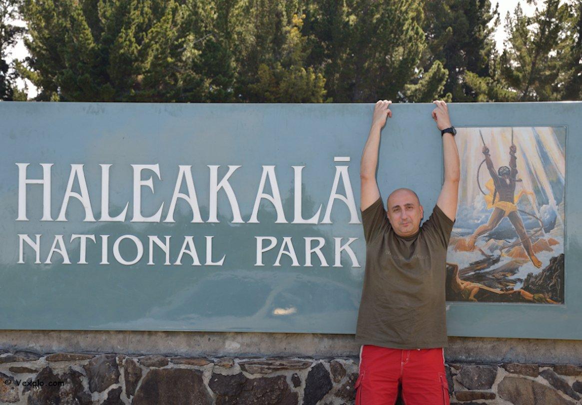 Ingresso all'Haleakala National Park.