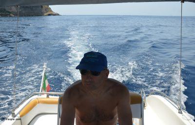 Barca a noleggio a Lampedusa.