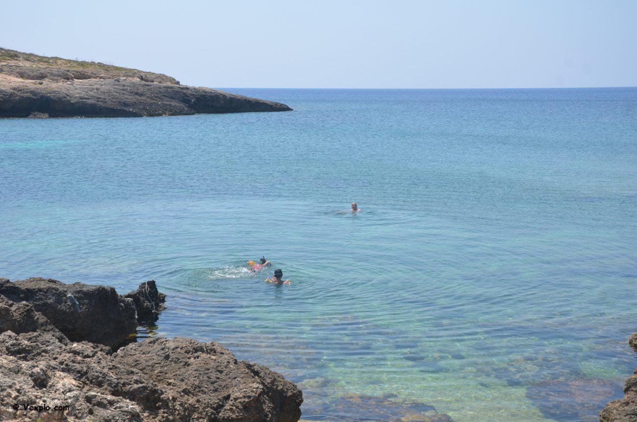 Cala Francese (Lampedusa).