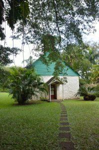 Chiesetta Palapala Ho'omau, vicino alla tomba di Charles Lindbergh.