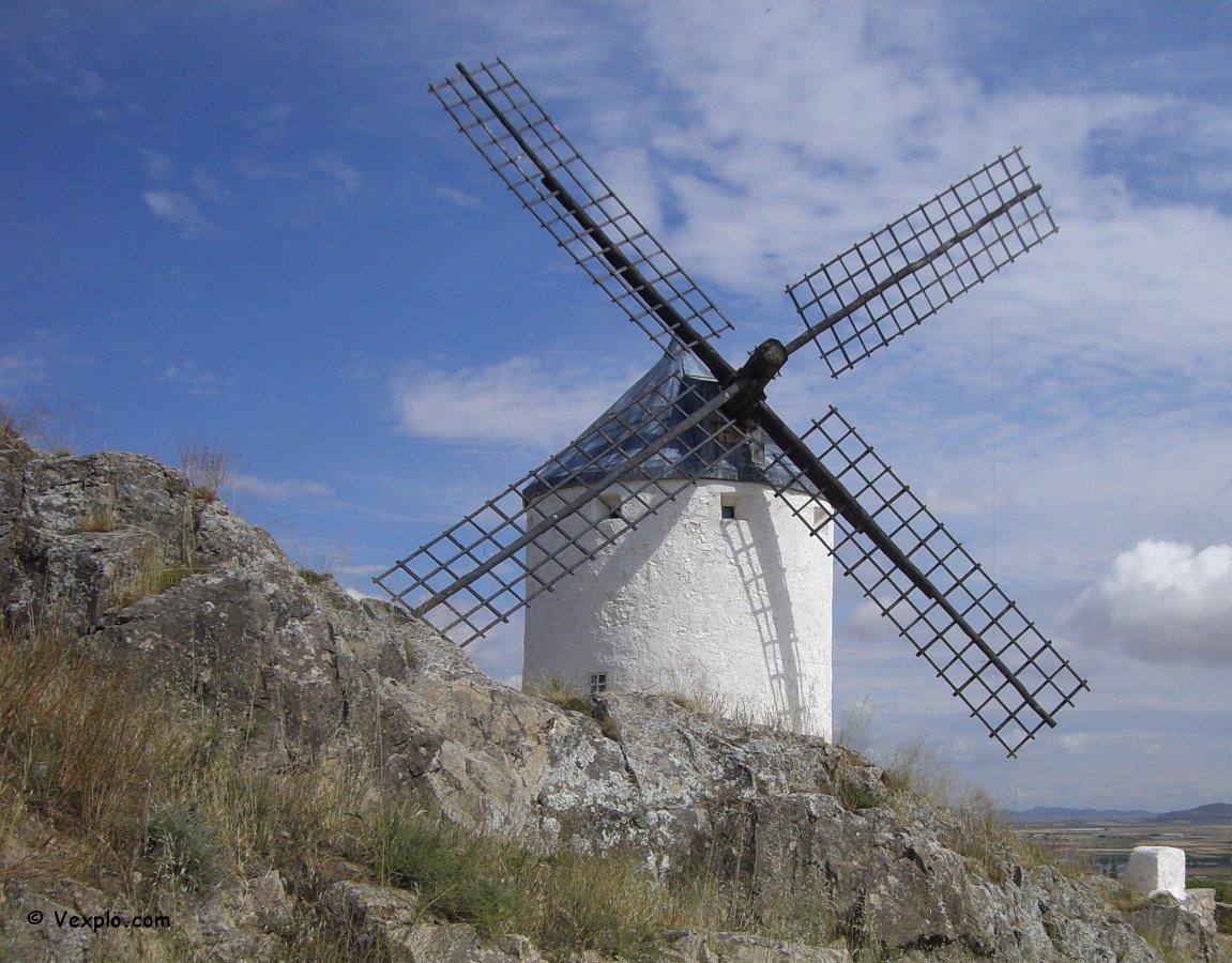 Mulino a vento di Consuegra.