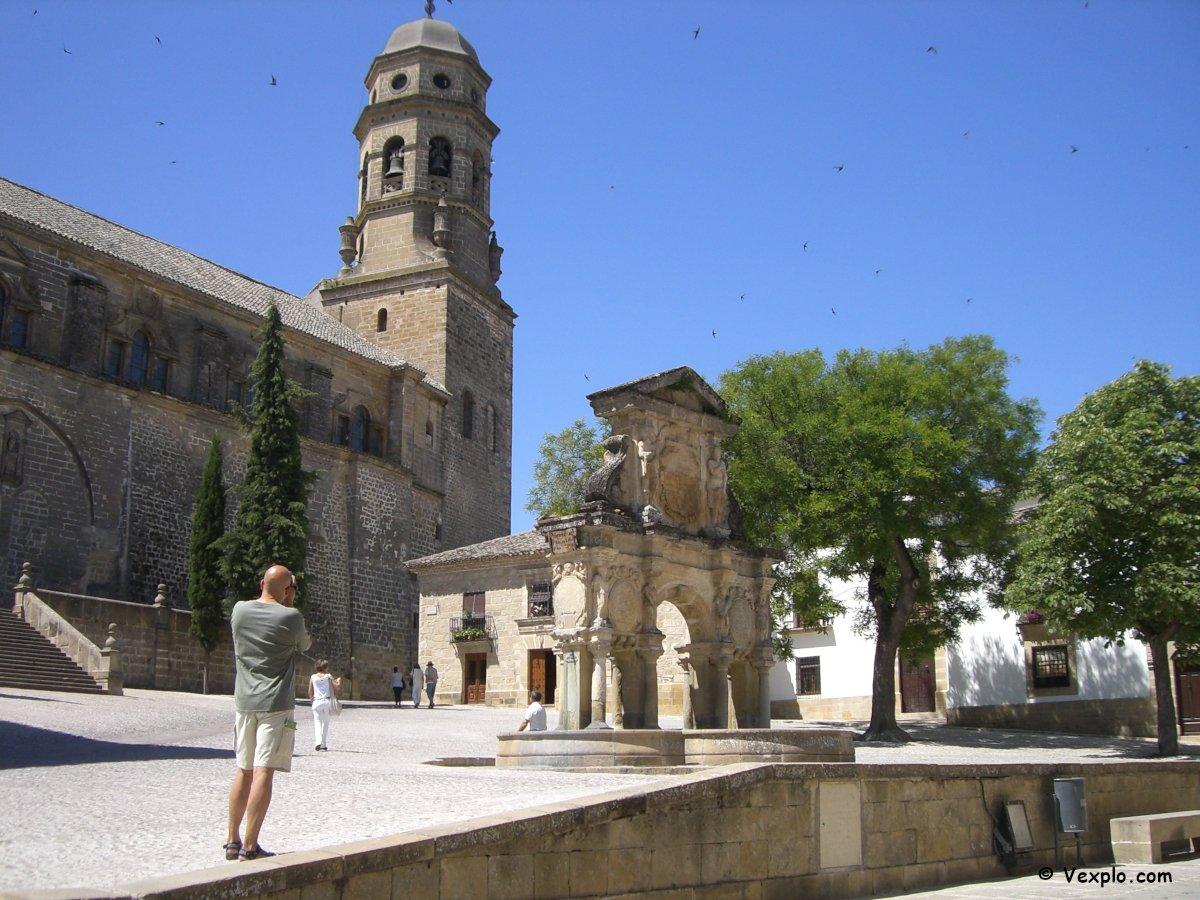 Baeza: Plaza Santa Maria