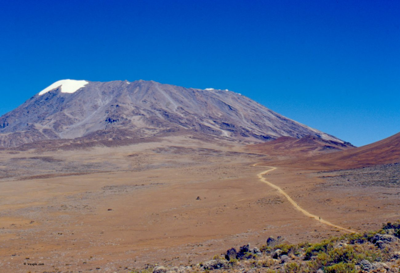 Scalare il Kilimangiaro. La Sella dei Venti e il Kibo.