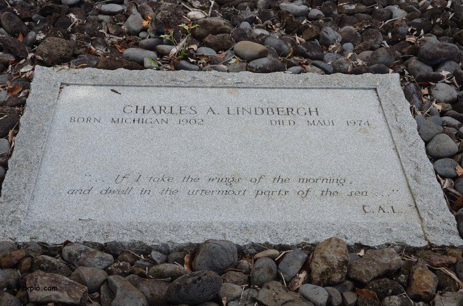 Tomba di Charles Lindbergh.