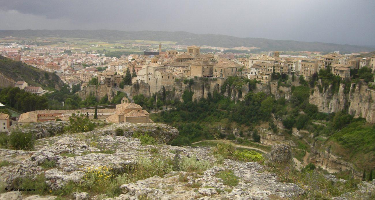 Vista d'insieme di Cuenca.