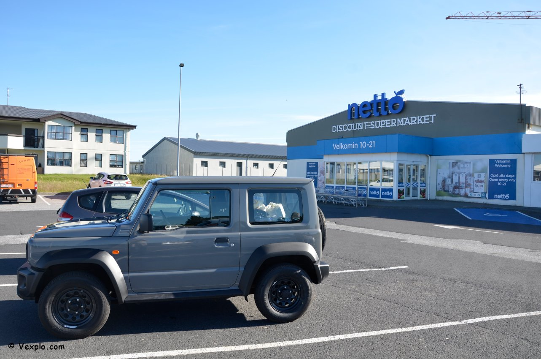 Supermercato islandese.