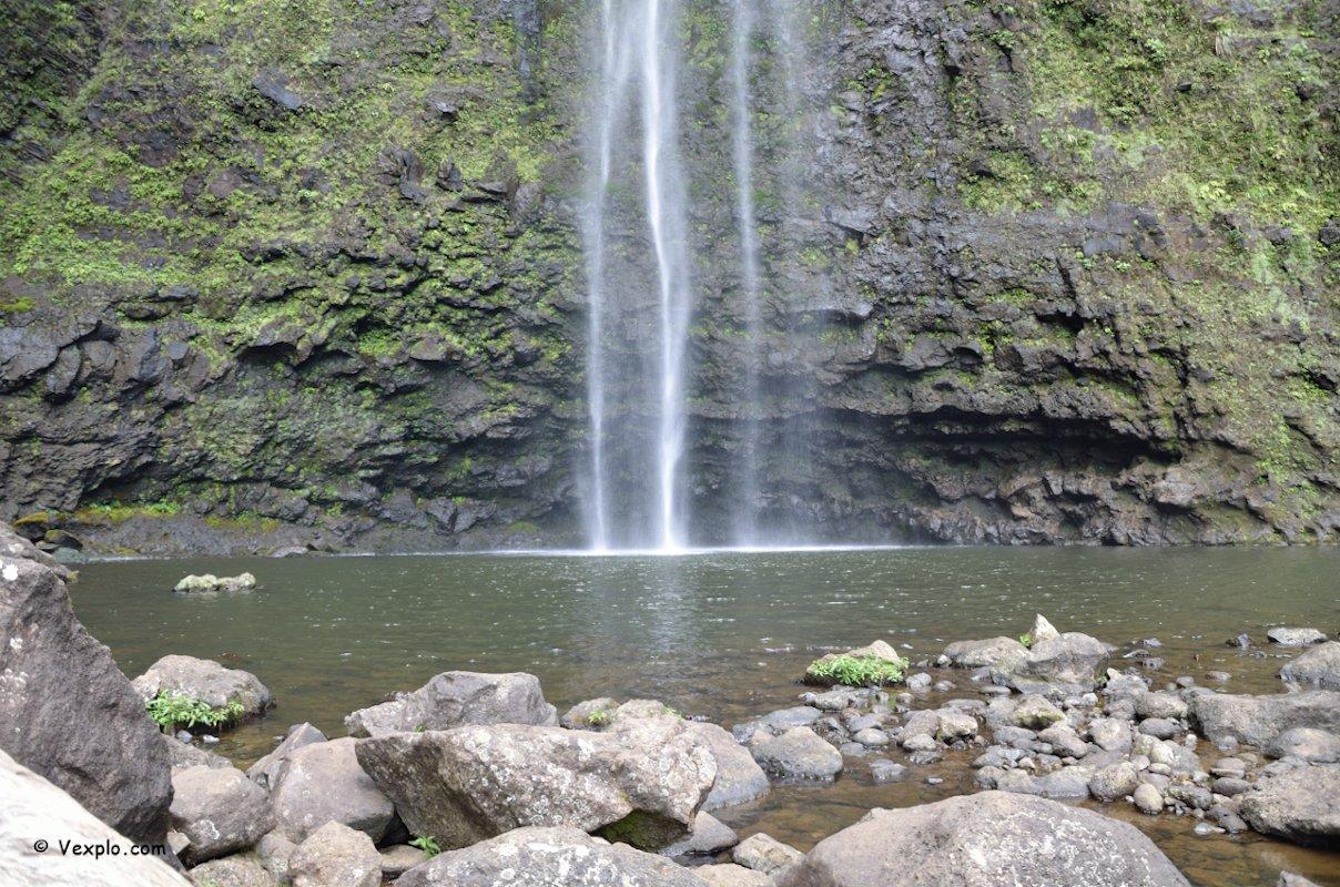 Hanakapi'ai Falls, Kauai.