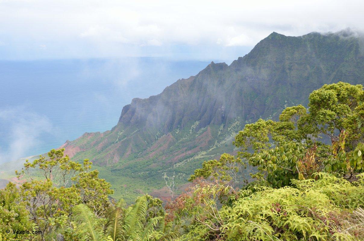 Kalalau Lookout, Kauai.