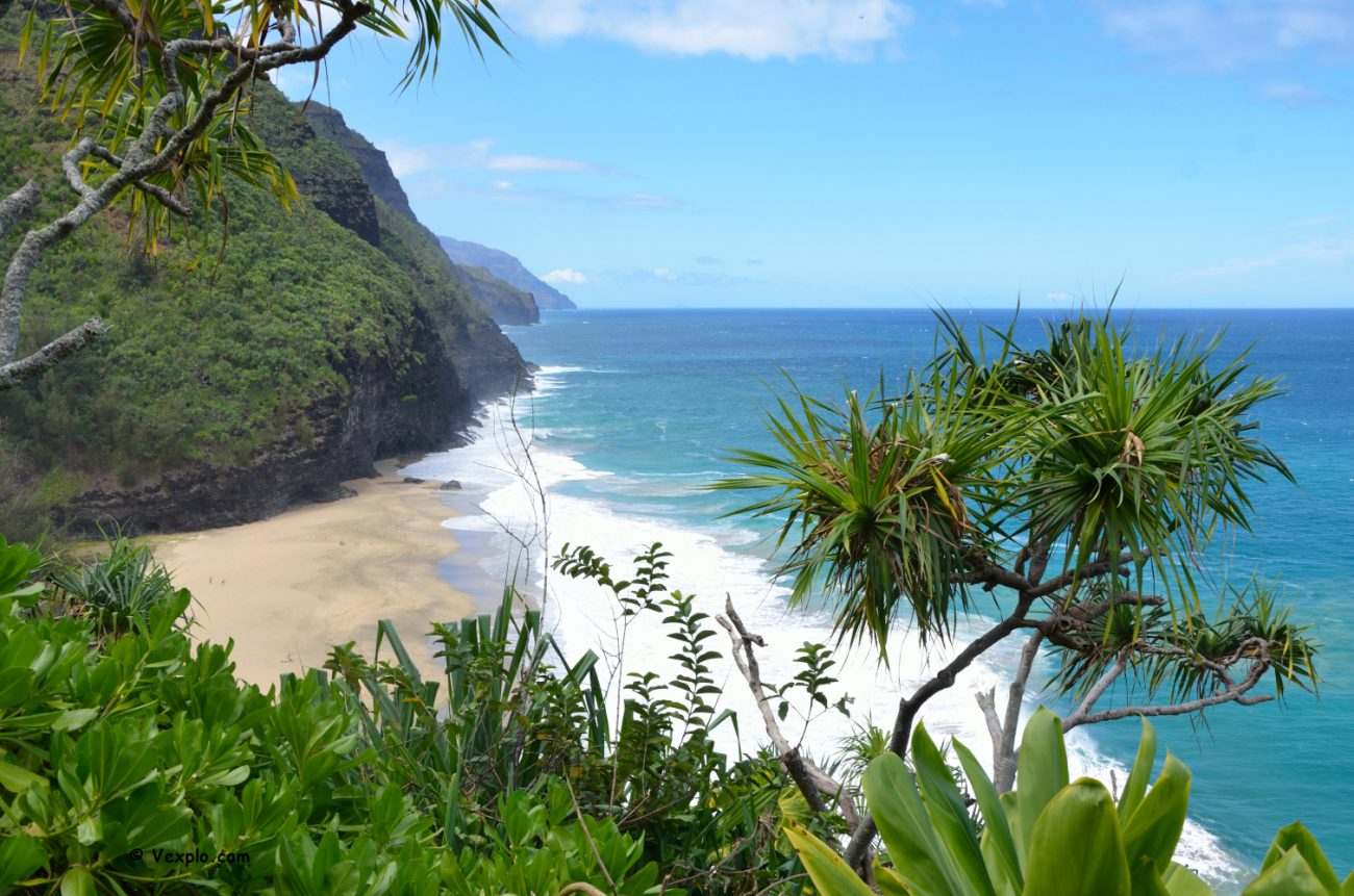 Hanakapi'ai Beach, Kauai.