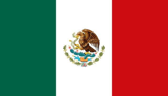 Bandiera del Messico.
