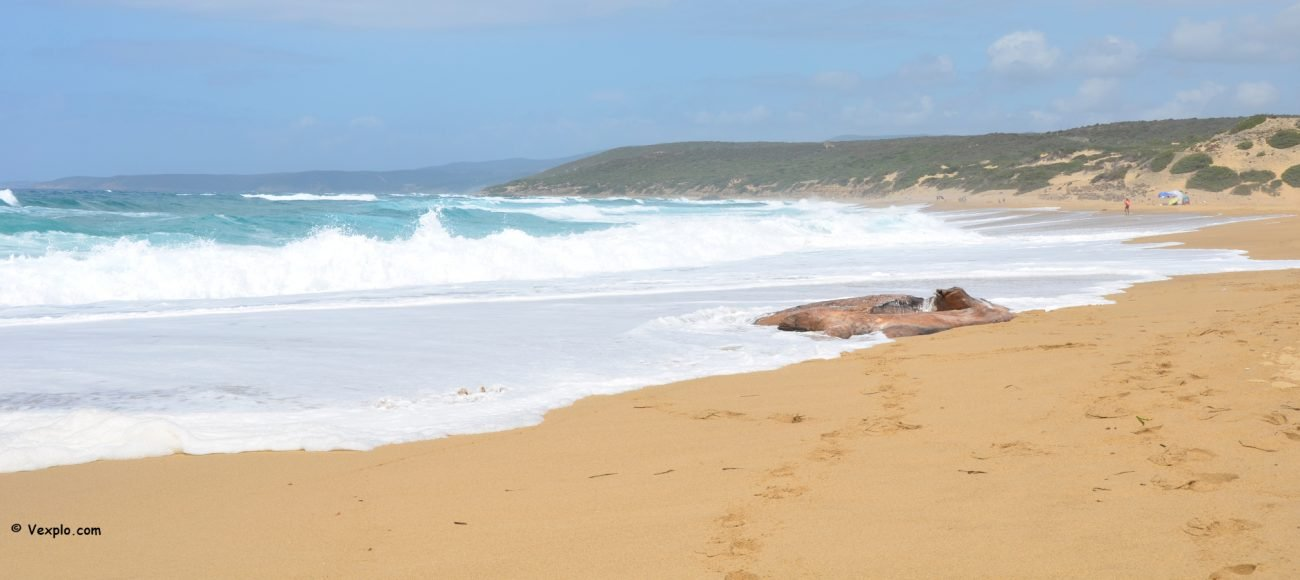 Spiaggia di Piscinas.