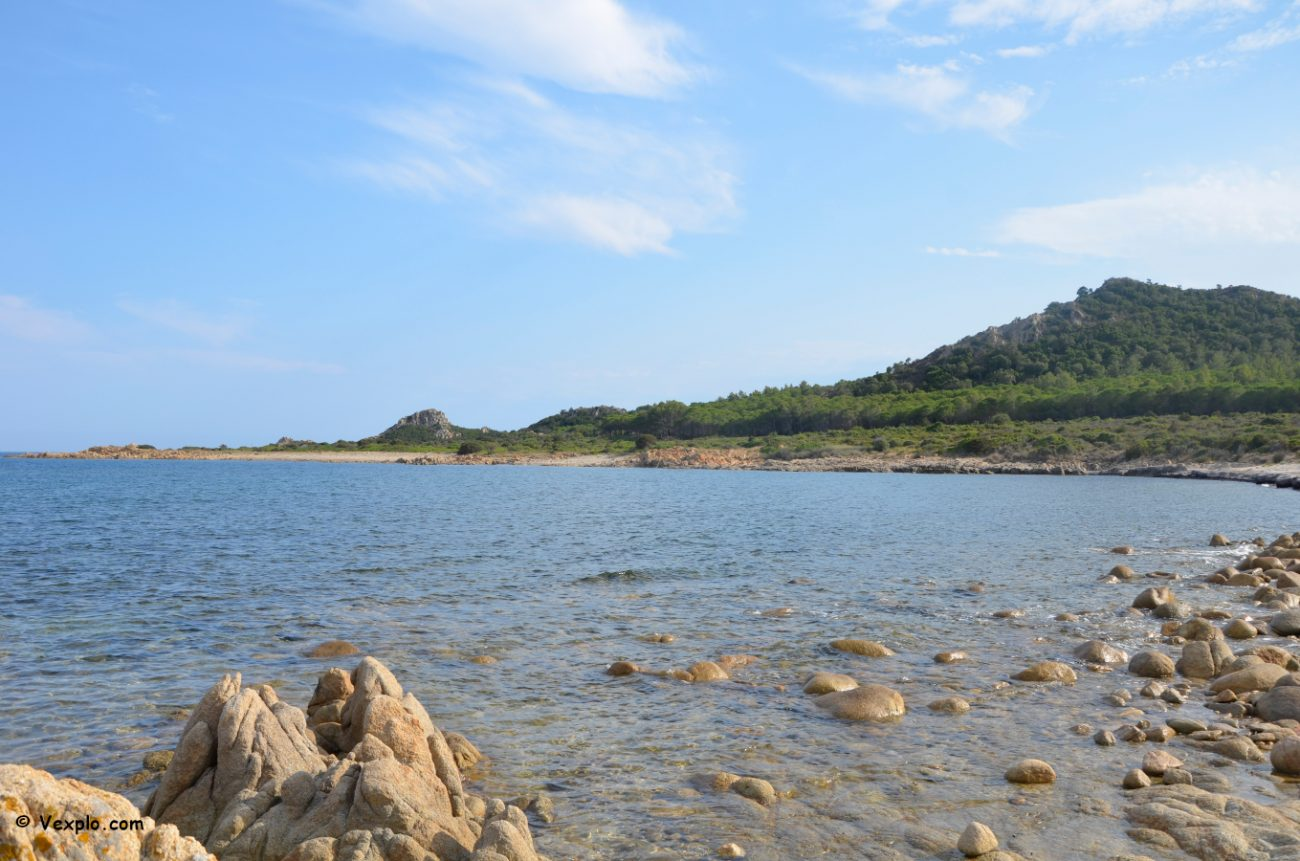 Dove andare al mare in Sardegna. Costa di Capo Comino.