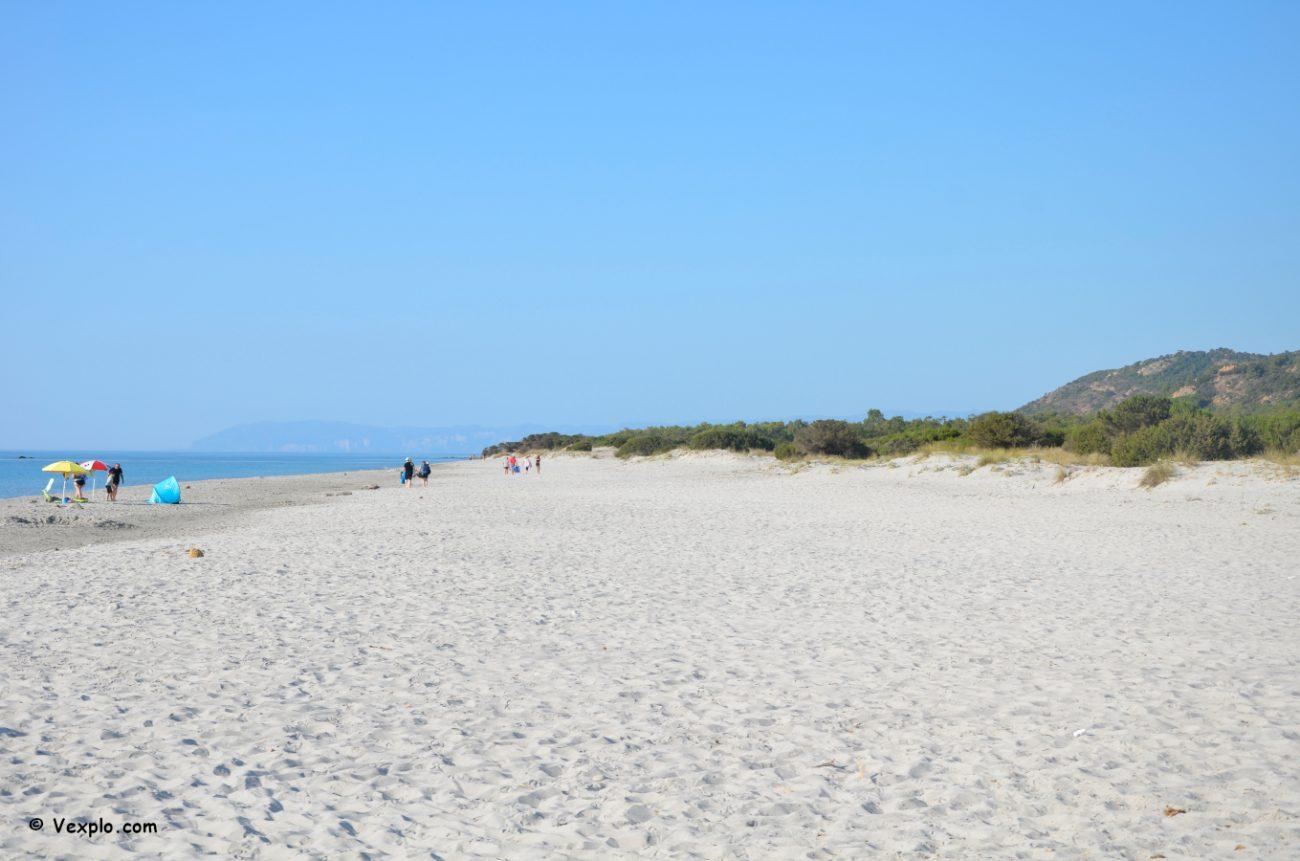 Dove andare al mare in Sardegna. Spiaggia di Berchida.