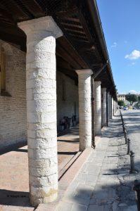 Gubbio - la Loggia dei Tiratori.