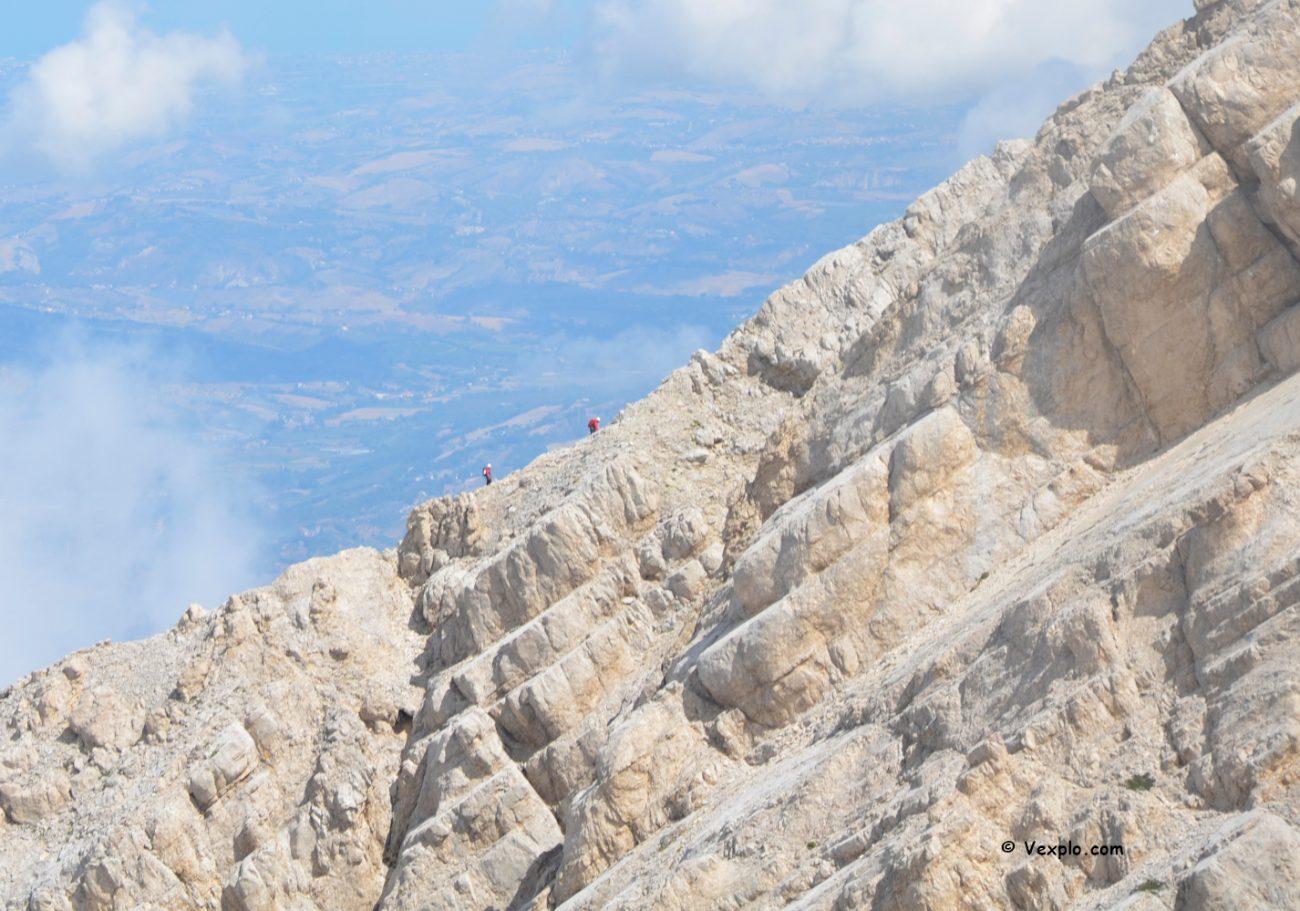 Abruzzo - scalata del Gran Sasso